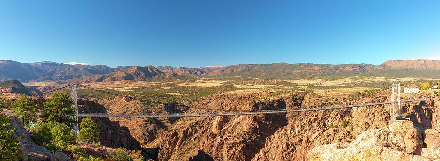 Royal Gorge Panorama by Kristia Adams