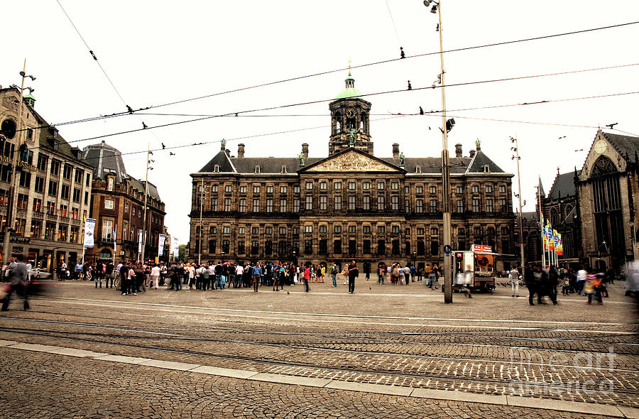 Amsterdam Royal Palace Photograph - Royal Palace Amsterdam by John Rizzuto