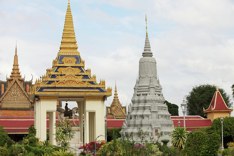 Royal Palace In Phnom Penh, Cambodia Photograph by  Laurent