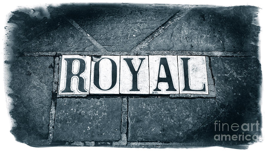 Royal Street Tiles in New Orleans by John Rizzuto