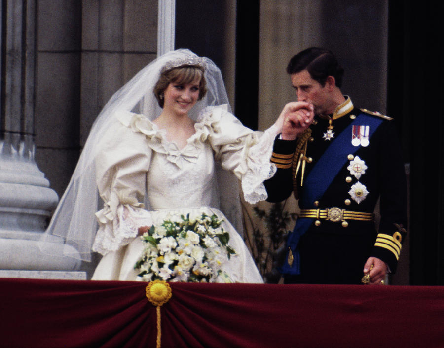 Royal Wedding Photograph by Princess Diana Archive
