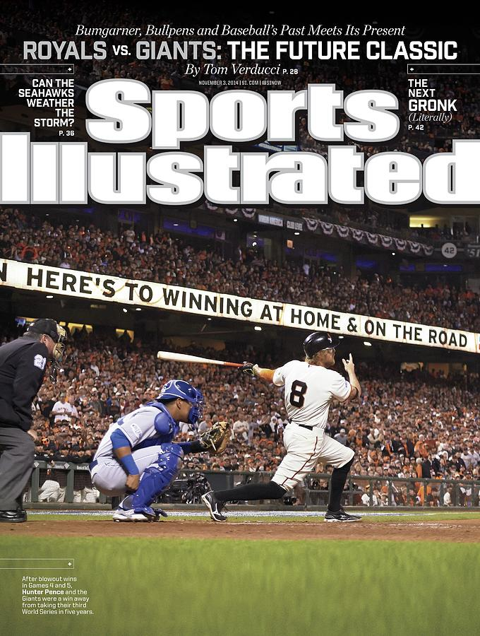Royals Vs. Giants The Future Classic Sports Illustrated Cover Photograph by Sports Illustrated