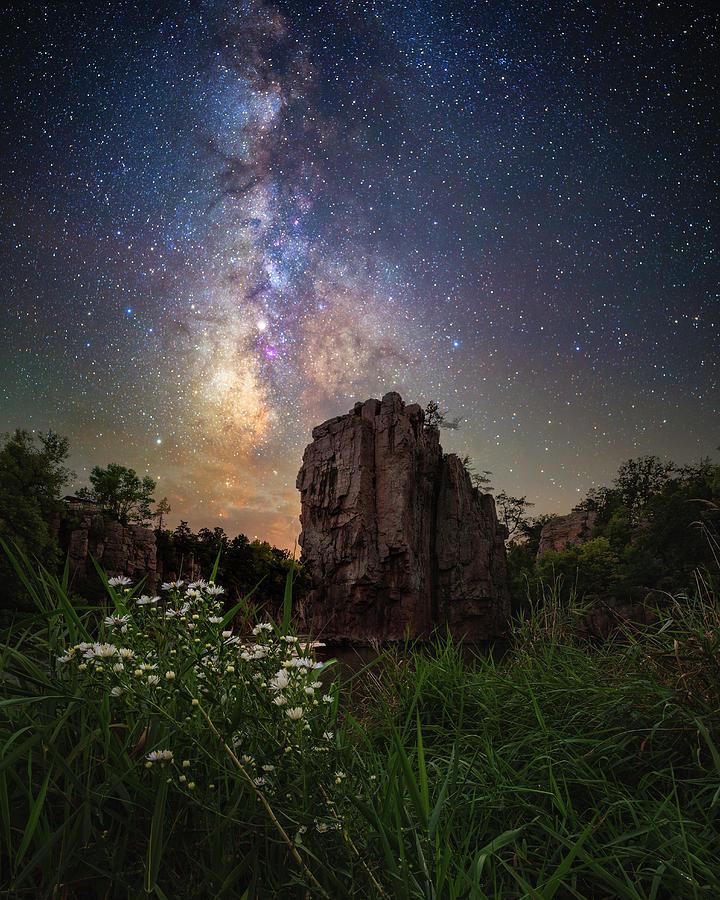 Milky Way Photograph - Royalty  by Aaron J Groen