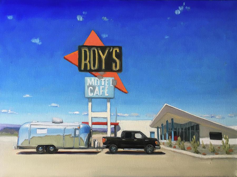 Roy's Motel, Route 66 by Elizabeth Jose