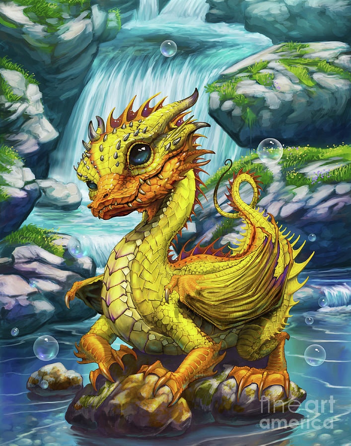 Rubber Ducky Dragon by Stanley Morrison