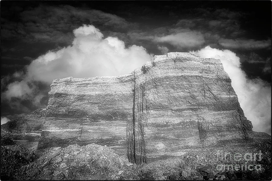 Rubble Mesa by Natural Abstract Photography