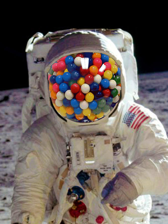 Rubino Astronaut Bbble Gum by Tony Rubino