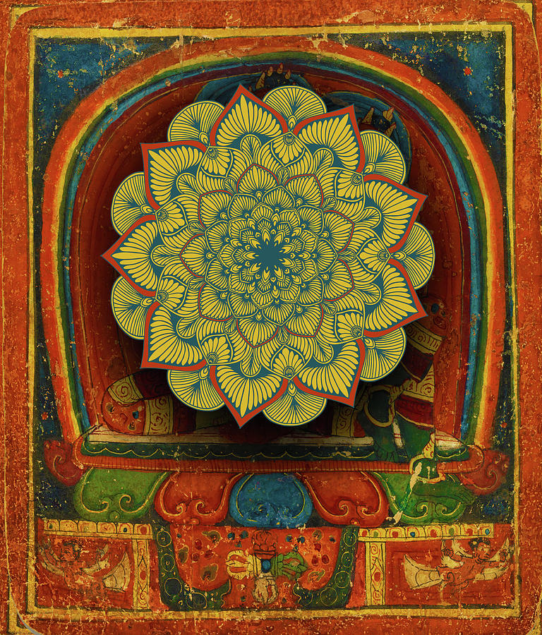 Rubino Mandala India Hand Gold by Tony Rubino