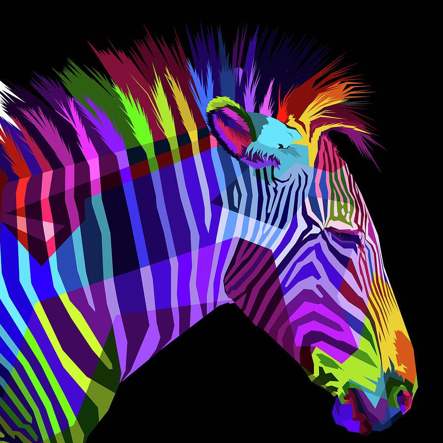 Rubino Zebras by Tony Rubino
