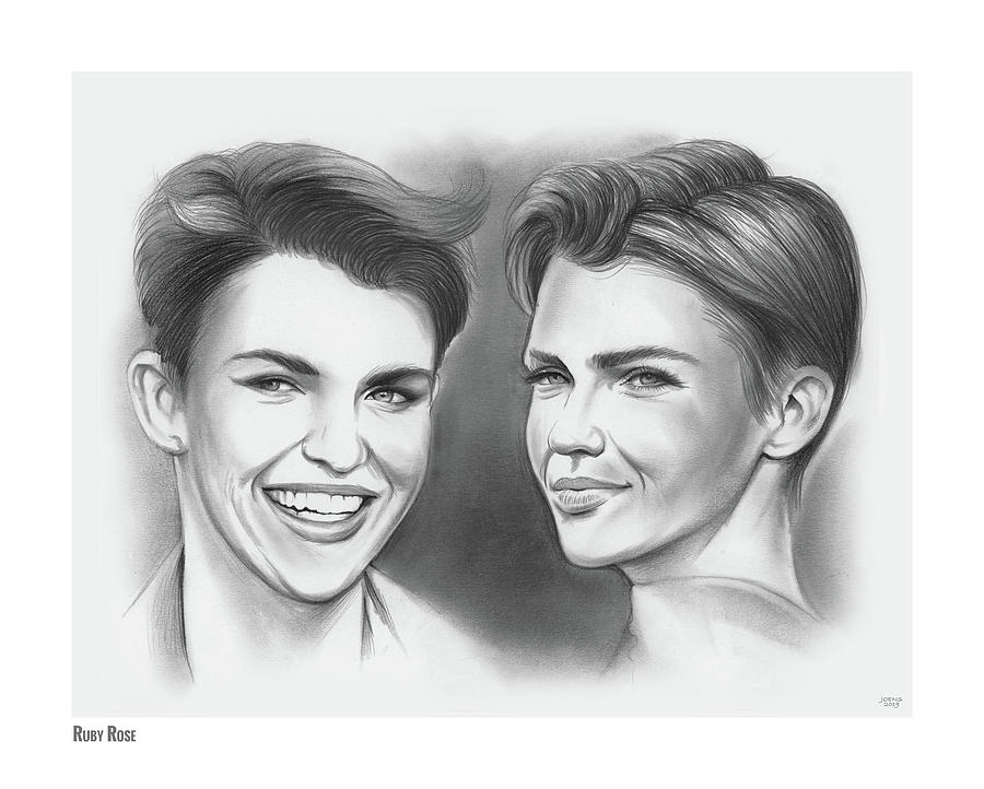 Ruby Rose by Greg Joens