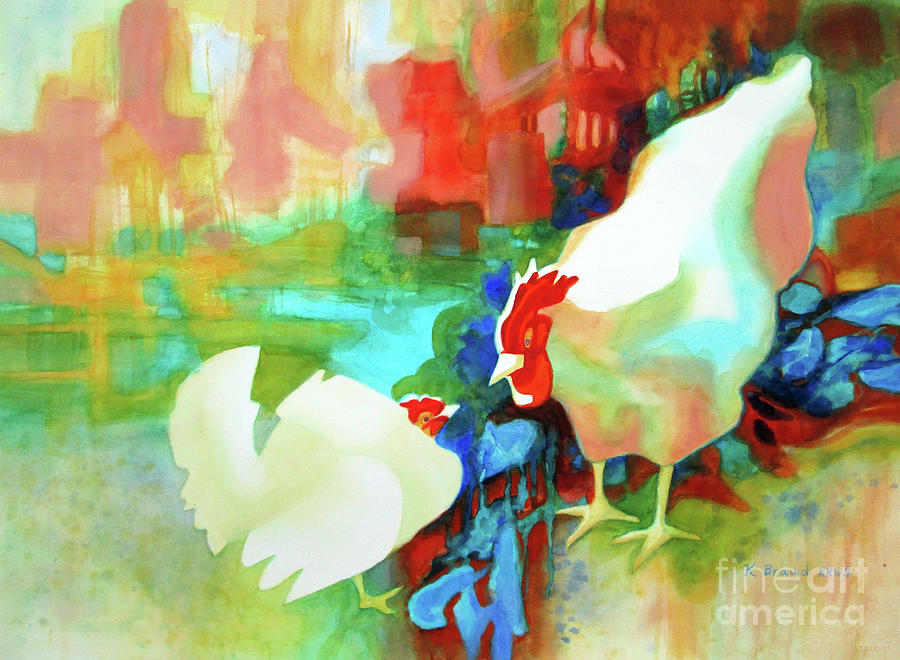 Ruffled Feathers 5 by Kathy Braud