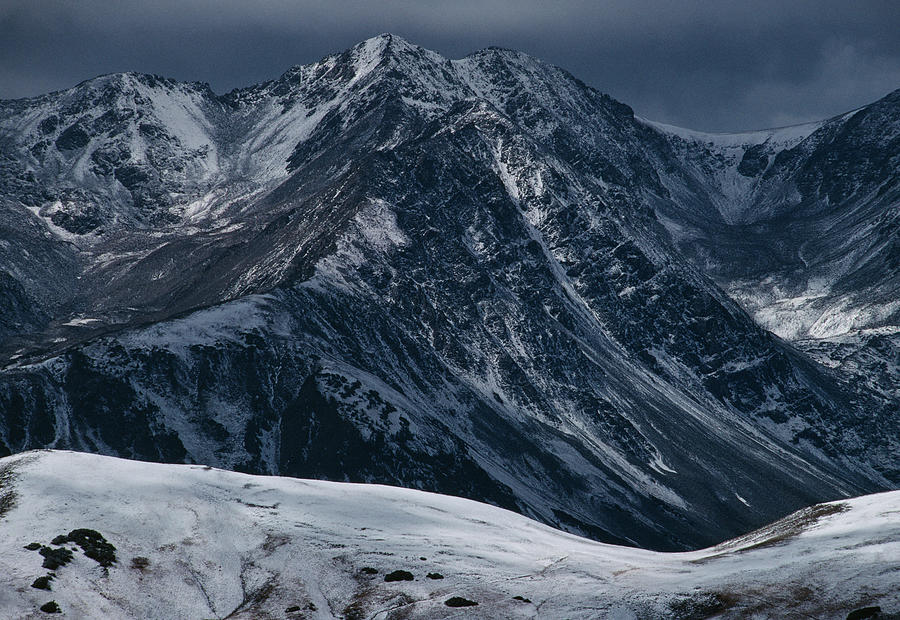 Rugged Rocky Mountains Photograph by Aluma Images