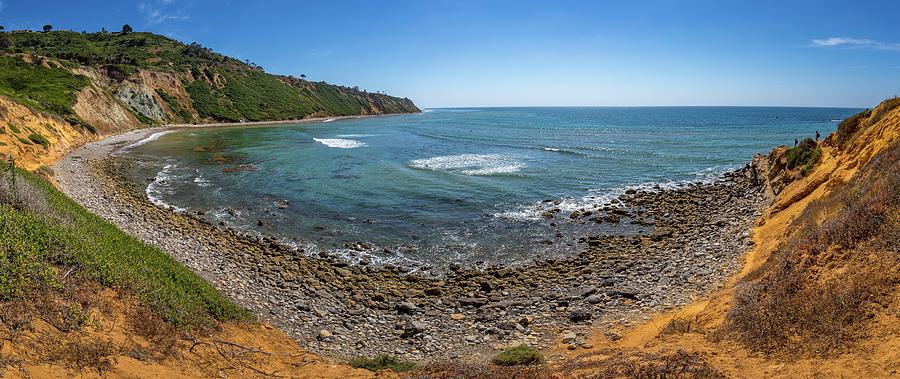 Rugged Southern California Coastline Panorama by Andy Konieczny