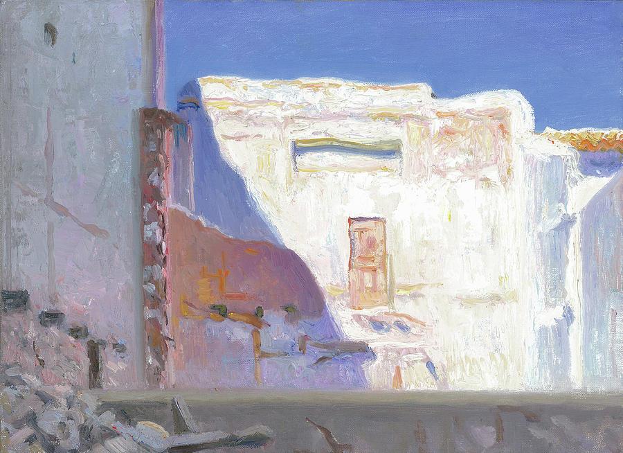 Ruine Painting - Ruine At Bolulla Sp by Ben Rikken