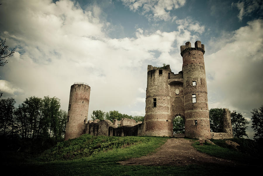 Ruined Castle Photograph by Mmac72