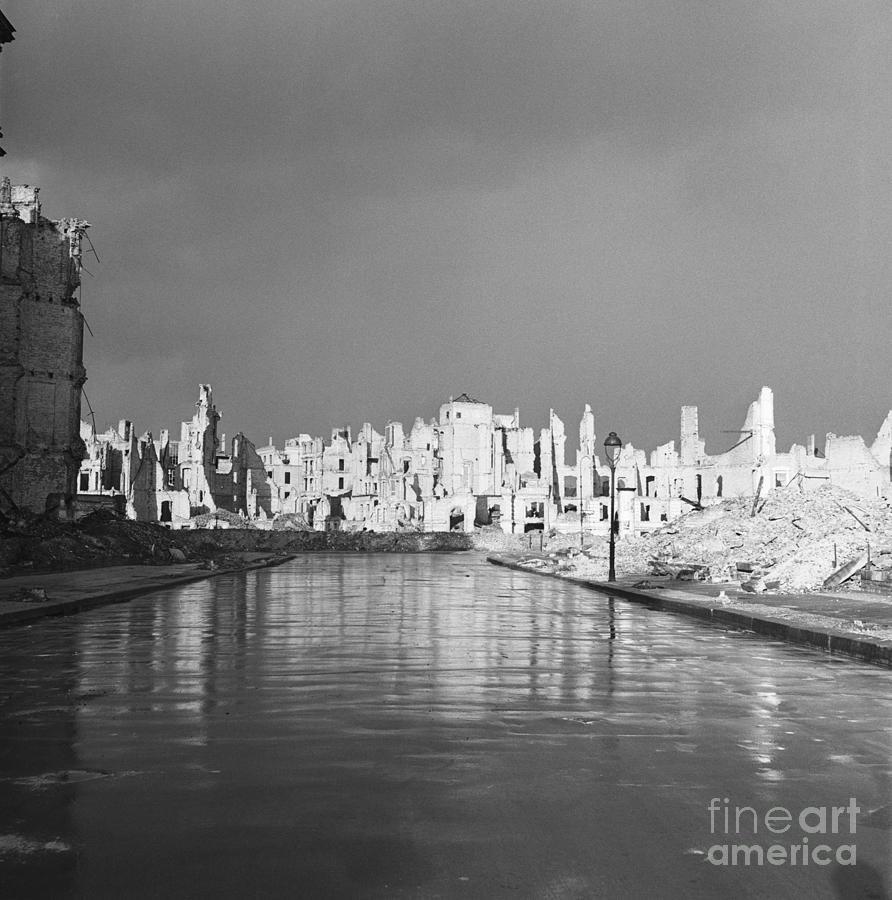 Ruins In Berlin After World War II Photograph by Bettmann