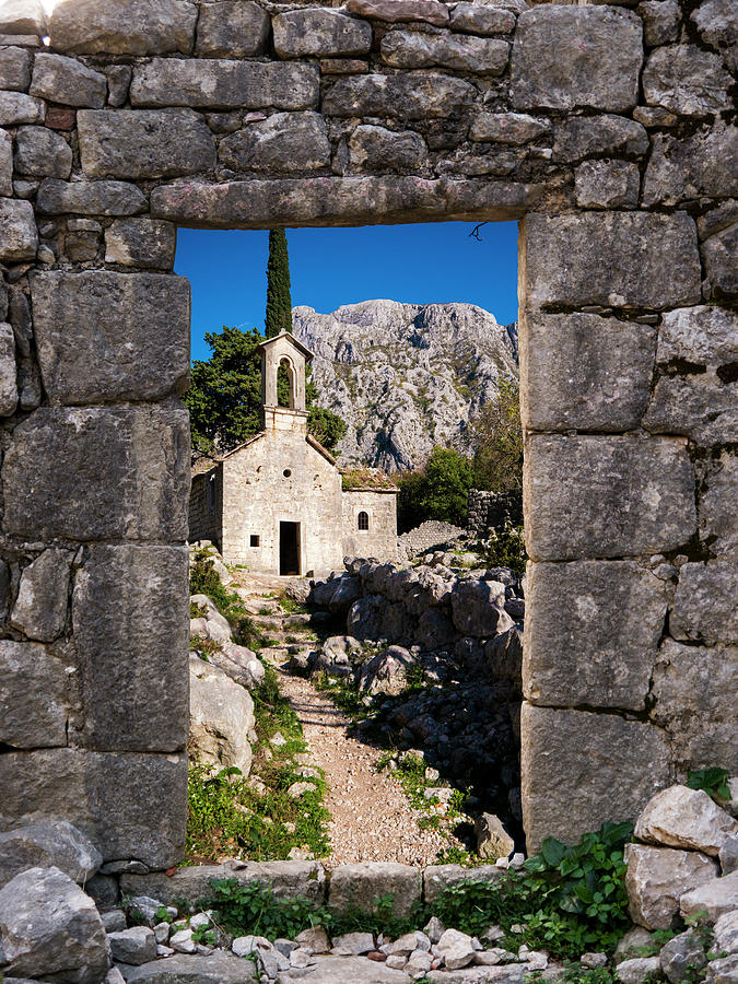 Kotor Photograph - Ruins In Kotor, Montenegro by Rae Tucker