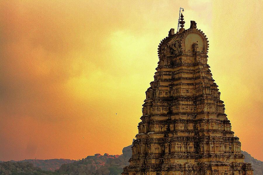 Ruins Of Vijayanagara In Hampi Photograph by Gulfu Photography