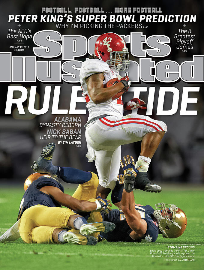 Rule Tide Alabama Dynasty Reborn Sports Illustrated Cover Photograph by Sports Illustrated