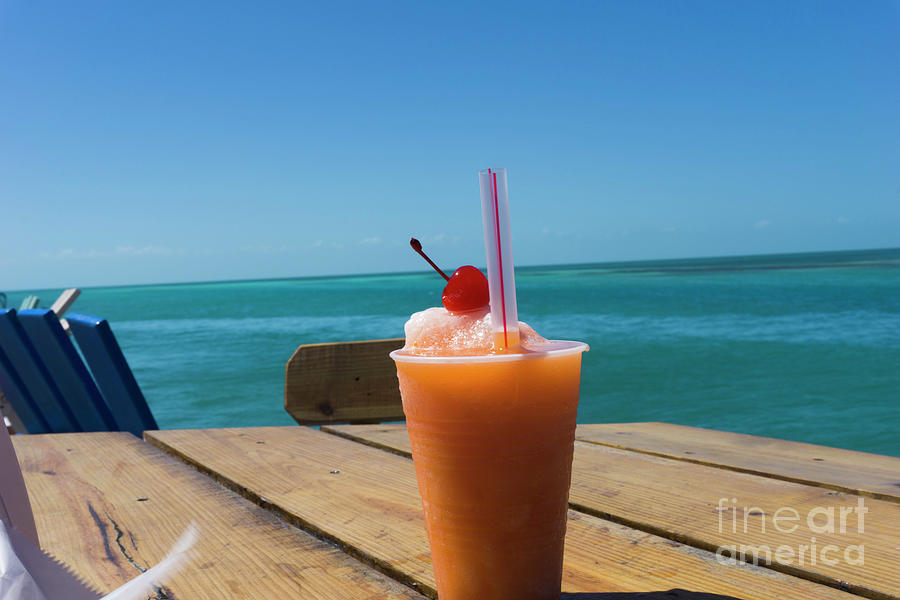Rum Punch Paradise by Randall Saltys