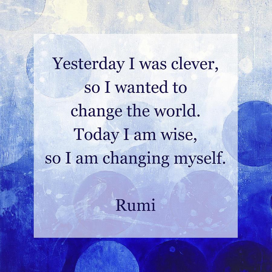 Rumi Meditation I by Nikita Coulombe