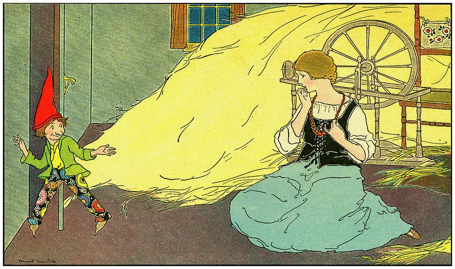 Rumpelstiltskin Illustration 1921 by Phil Cardamone