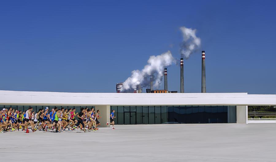 Action Photograph - Run & Run by Osmel