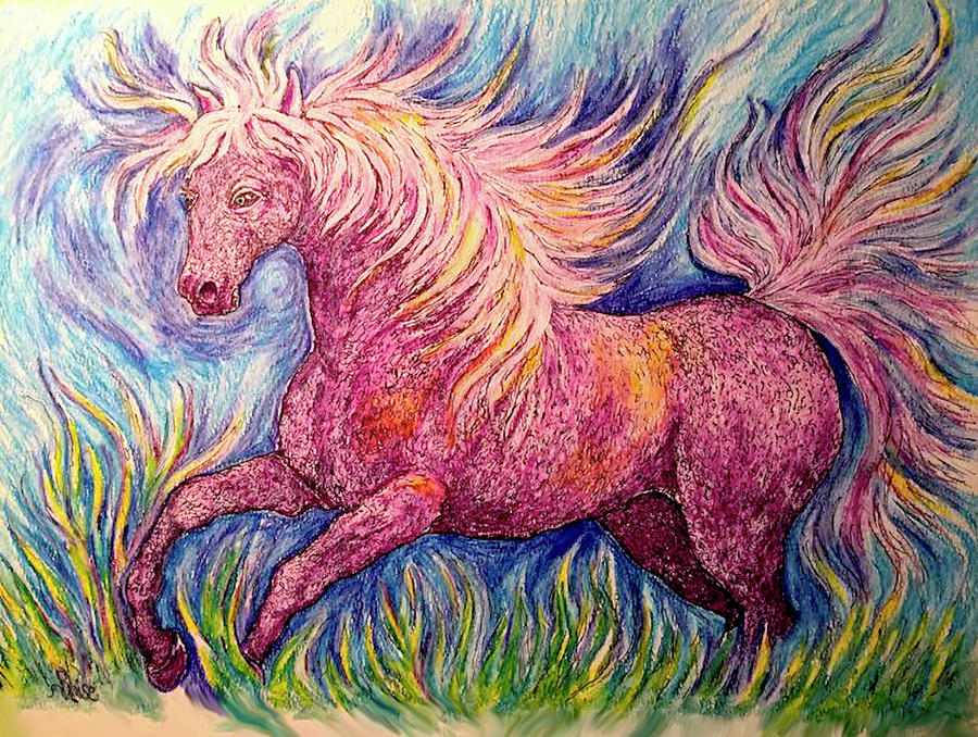 Run With The Colors by Yvonne Blasy