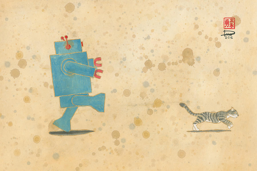 Run, Xander, Run by Derek Motonaga