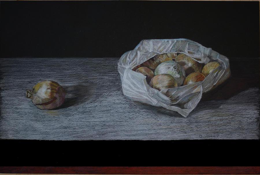 Runaway Onion by Quwatha Valentine