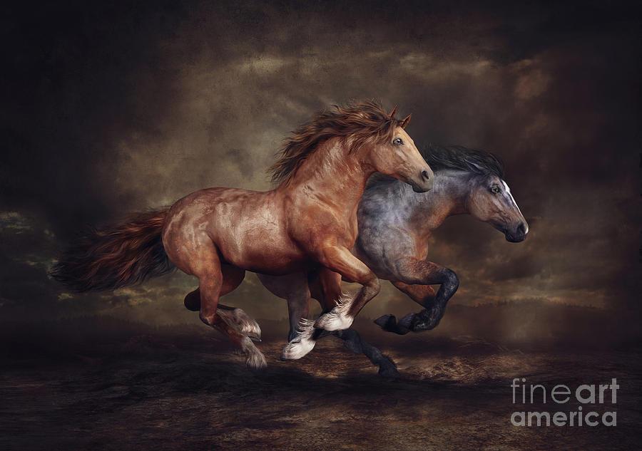 Running Horses by Shanina Conway