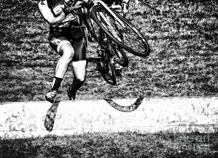 Cycling Photograph - Running On Power Lift  by Steven Digman