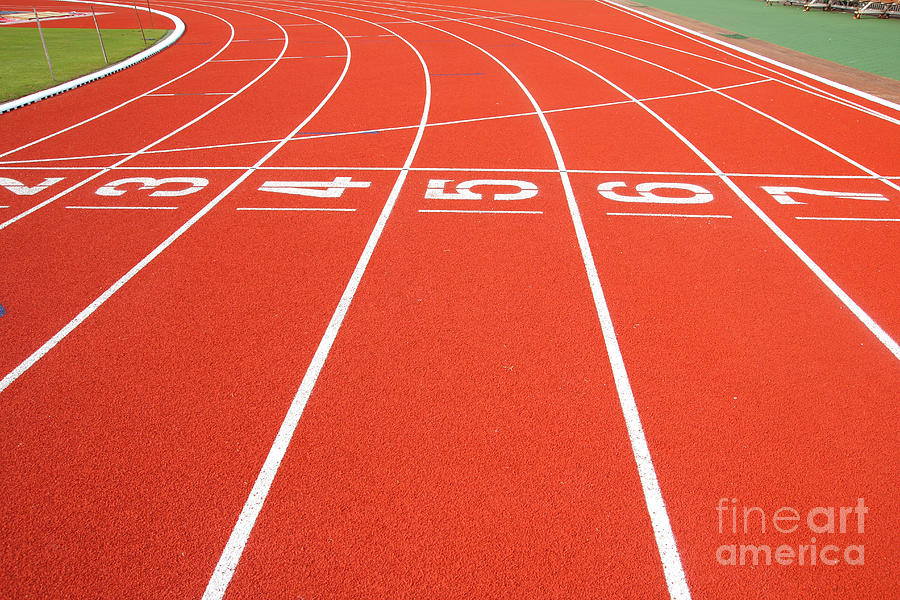 Compete Photograph - Running Track by Wanchai