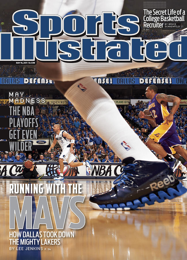 Running With The Mavs How Dallas Took Down The Mighty Lakers Sports Illustrated Cover Photograph by Sports Illustrated