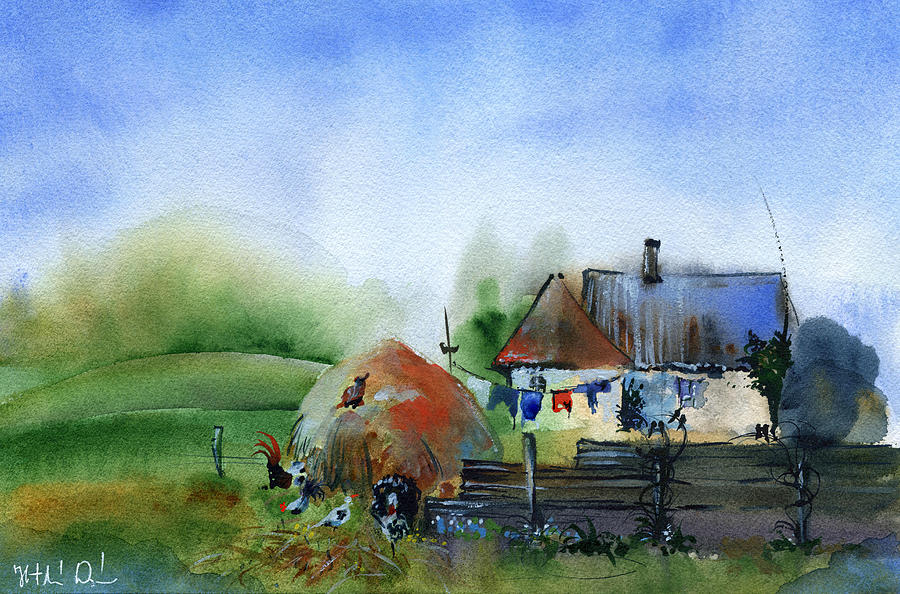 Rural Countryside by Dora Hathazi Mendes