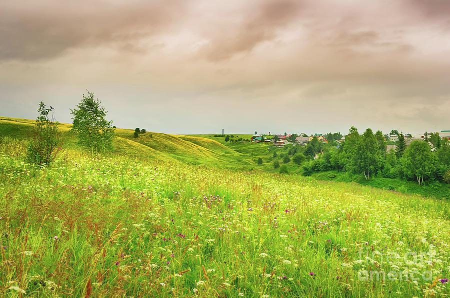Rural Landscape. Russia Photograph