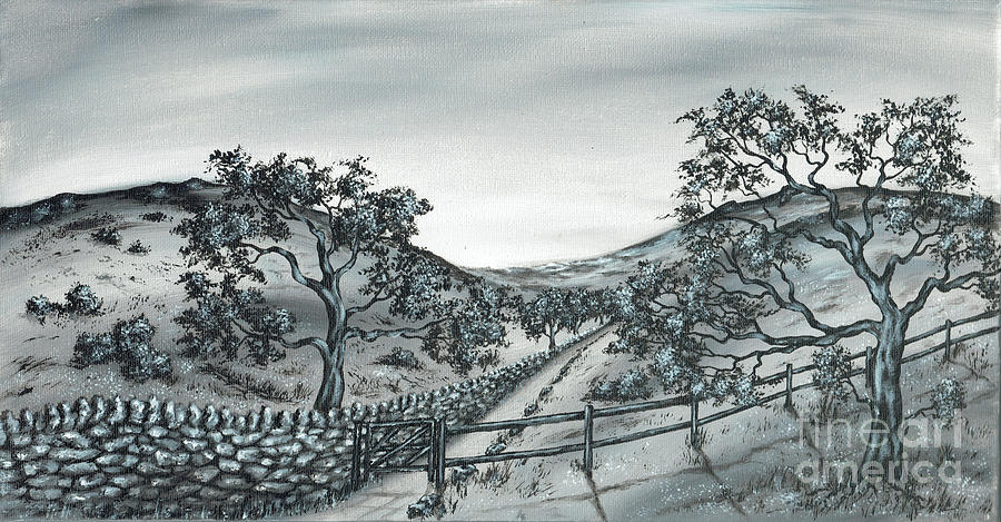 Rural Trail 3 Painting