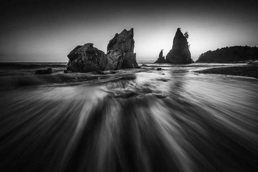 Rushing Photograph - Rushing Tide by Lydia Jacobs