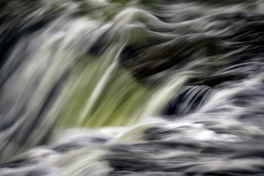 Rushing Water Over the Upper Falls by Rick Berk