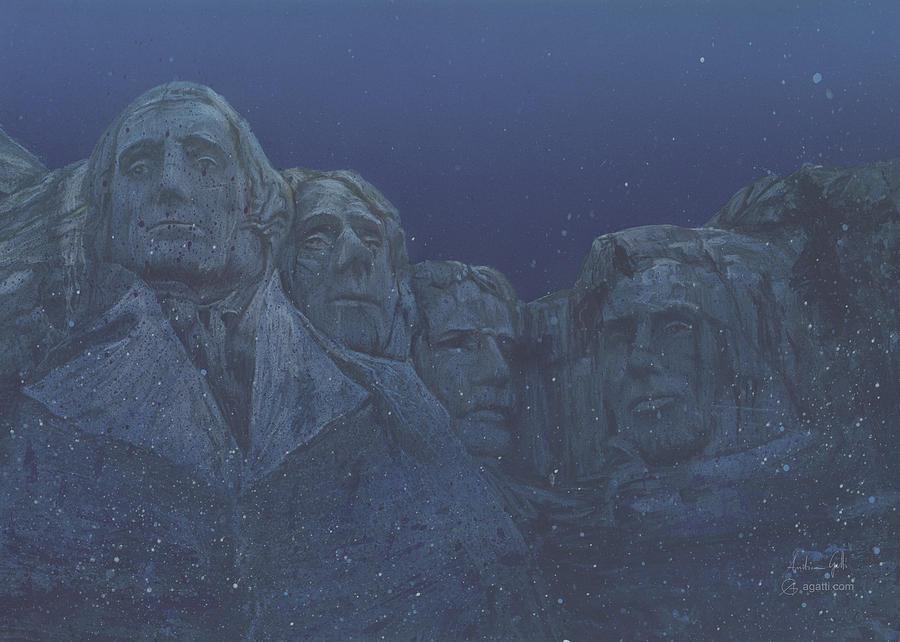 Rushmore Airbrush Digital Art
