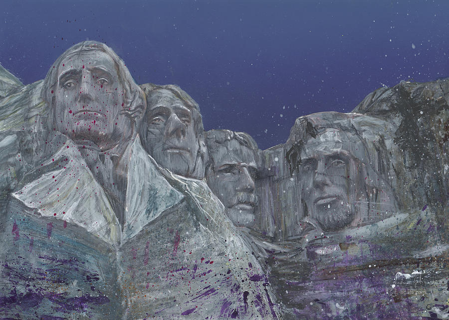 Rushmore Mixed Media Digital Art