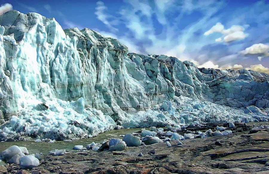 Russell Glacier Scenic by Anthony Dezenzio