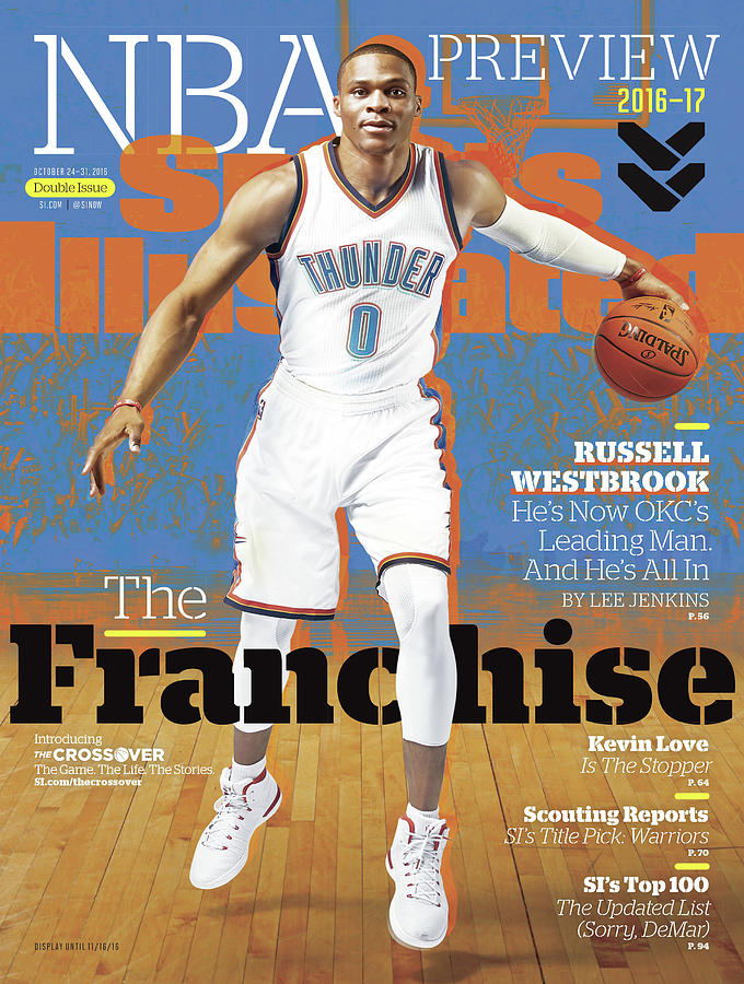Russell Westbrook, The Franchise 2016-17 Nba Basketball Sports Illustrated Cover Photograph by Sports Illustrated