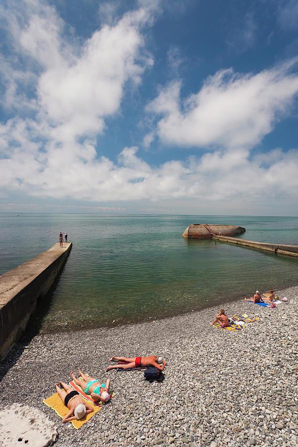Russia, Black Sea Coast, Sochi Photograph by Walter Bibikow
