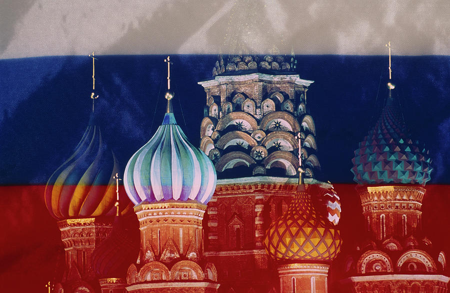 Russia, Moscow, Red Square St. Basils Photograph by Grant Faint
