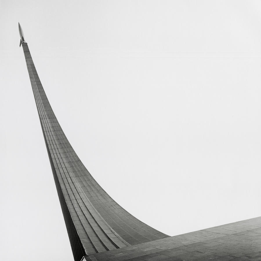 Russia, Moscow Space Monument, Low Photograph by Kim Steele