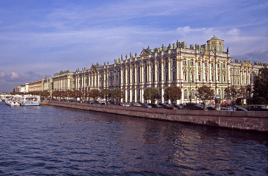 Russia, Saint Petersburg, Winter Photograph by Hans Neleman
