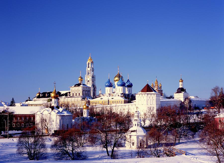 Russia, Sergiev Posad, Nativity Photograph by Hans Neleman