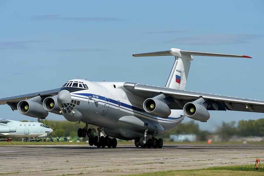 Russian Aerospace Forces Il-76md by Daniele Faccioli