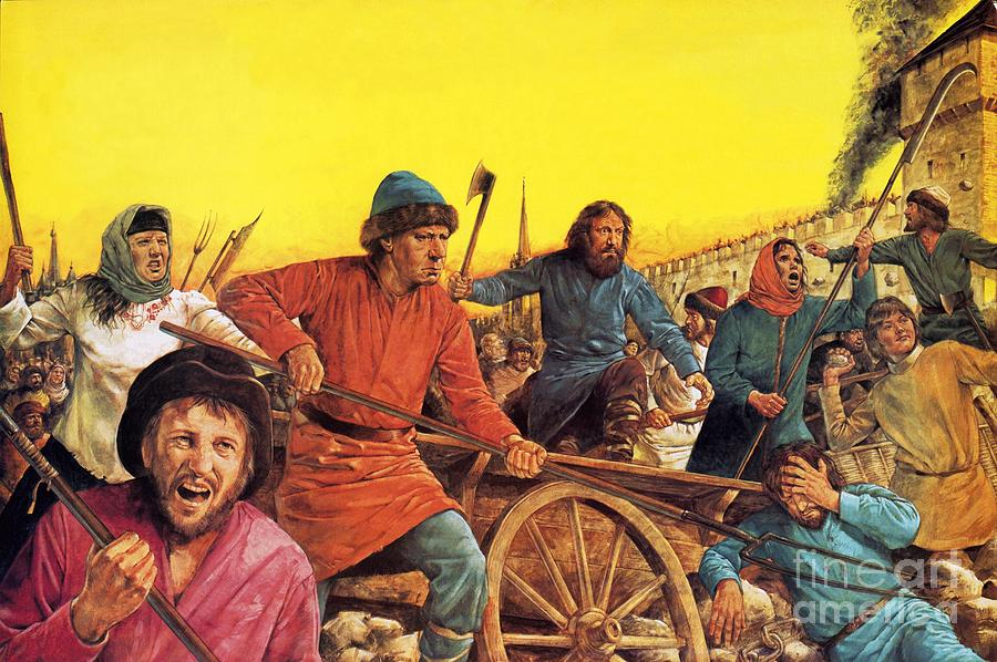 Russian Mob by Richard Hook